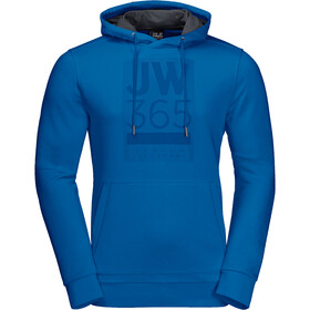 Jack Wolfskin 365 Pull à capuche Homme, azure blue